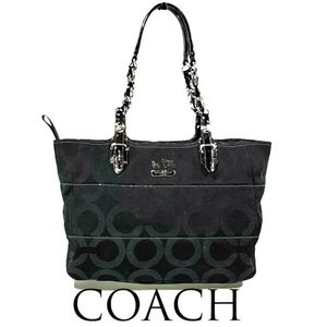 Coach Madison Tribeca Signature Tote Bag